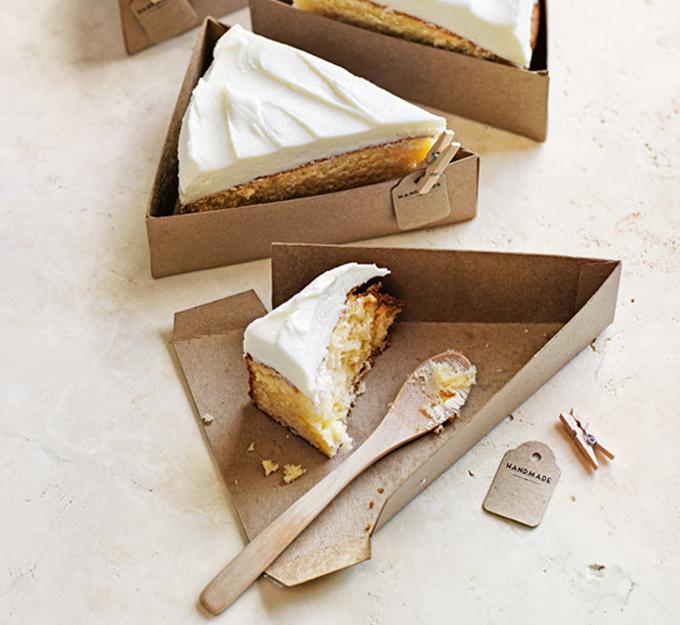Cómo hacer cajas para porciones de tarta individuales | Gastronomía ...