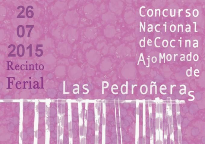Concurso Nacional de Cocina Ajo Morado de Las Pedroñeras