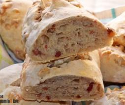Pan de nueces y jamón
