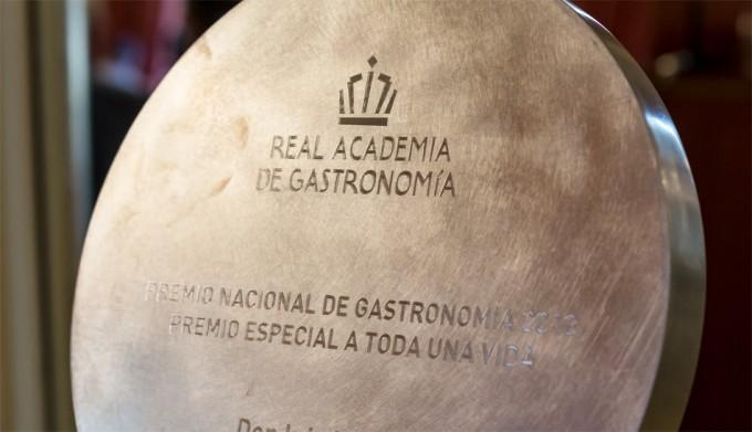 Galardonados en los Premios Nacionales de Gastronomía