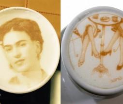 Dibujos sobre el café