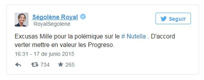 Ministra de Ecología de Francia