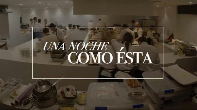 Documental Una noche como esta. Dani García Restaurante