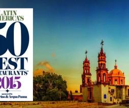 Mejores restaurantes latinoamericanos 2015
