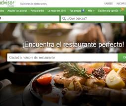 Buscar restaurante con TripAdvisor