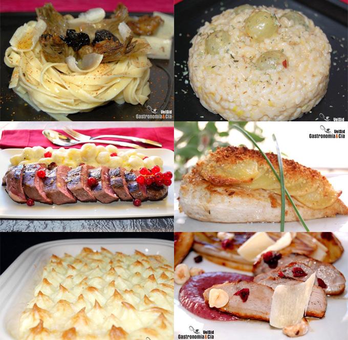 Recetas con queso Grana Padano