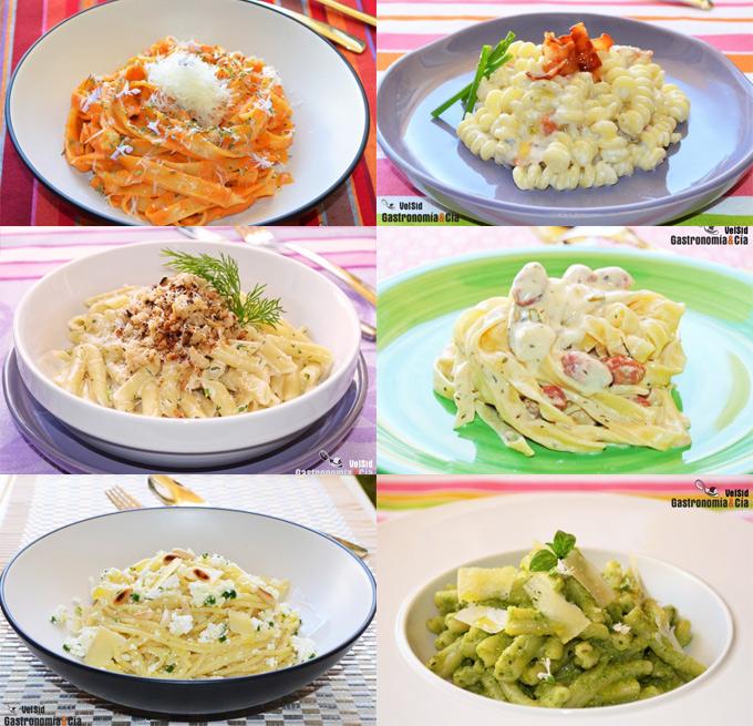 Doce recetas de pasta sin tomate | Gastronomía & Cía