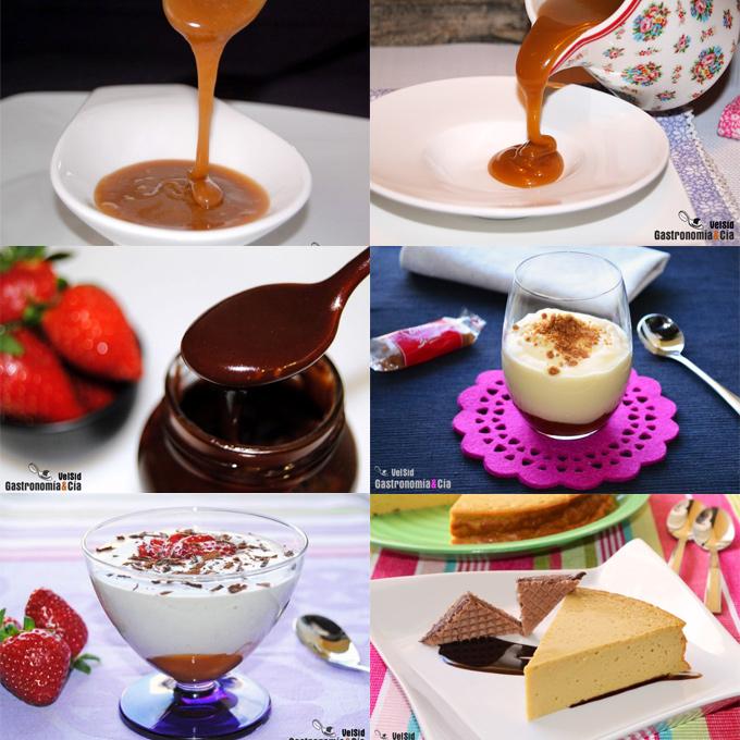 Recetas con crema de toffee