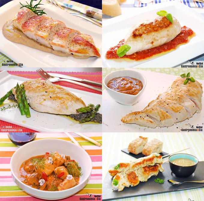 Doce nuevas recetas con pechuga de pollo | Gastronomía & Cía
