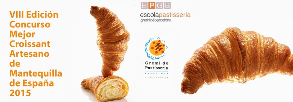 Concurso Mejor Croissant Artesano de Mantequilla de España 2015