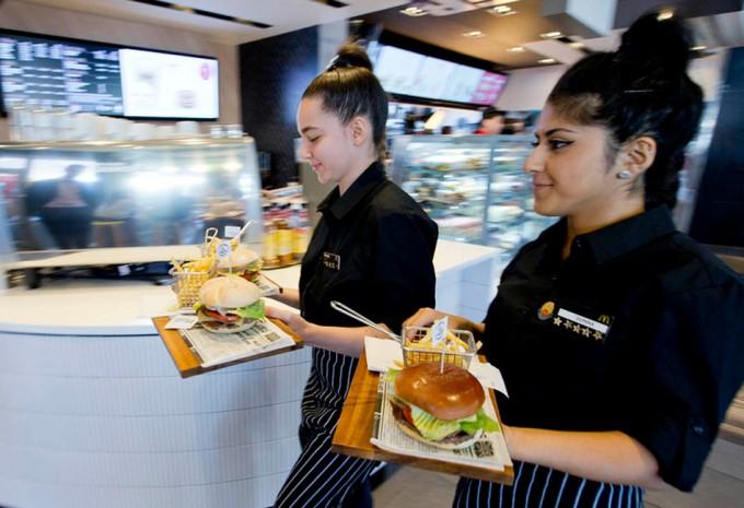 Hamburguesas gourmet en McDonalds