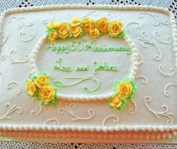 Pastel o tarta rectangular