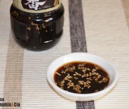 Salsa para carnes a la parrilla estilo japonés