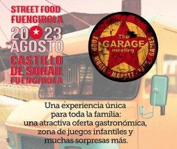Festival de comida callejera en Málaga