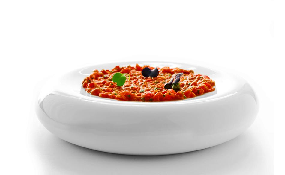 Tartar de tomate de Albert Adrià