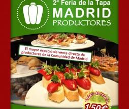 Feria de la Tapa en el Mercado de Productores de Madrid