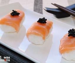 Nigiri salmón