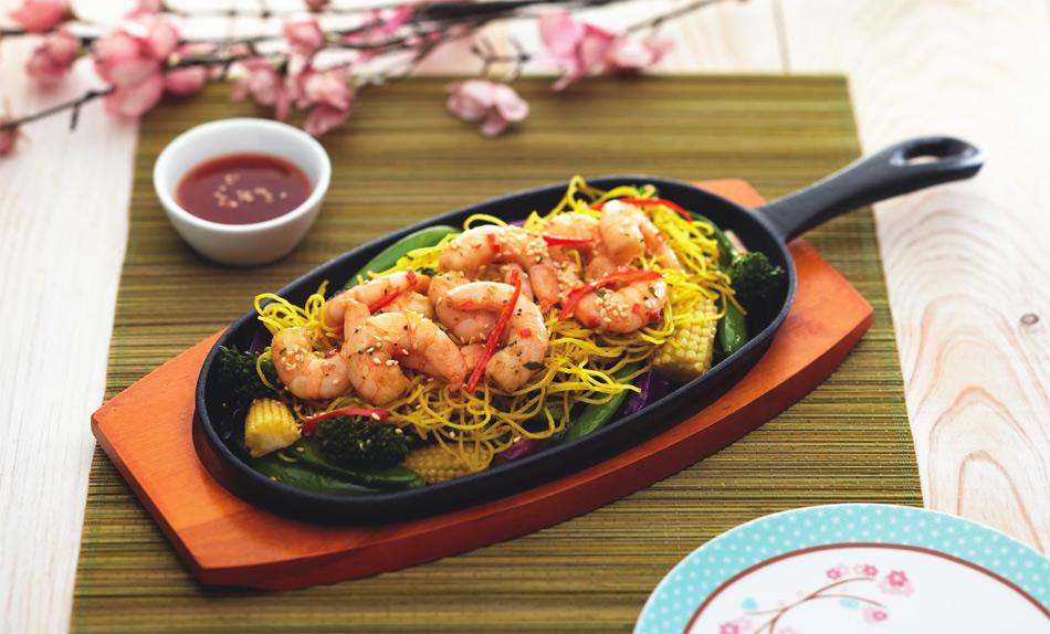 Plato de hierro fundido para comida oriental for Utensilios para servir comida