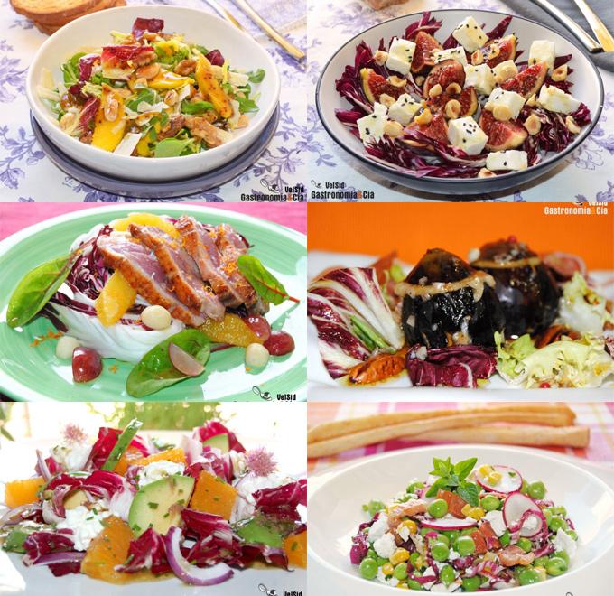 Doce recetas con radicchio