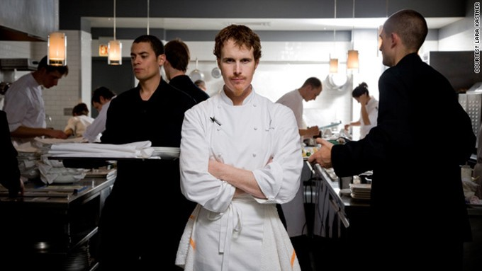 Restaurante Alinea de Grant Achatz en Madrid