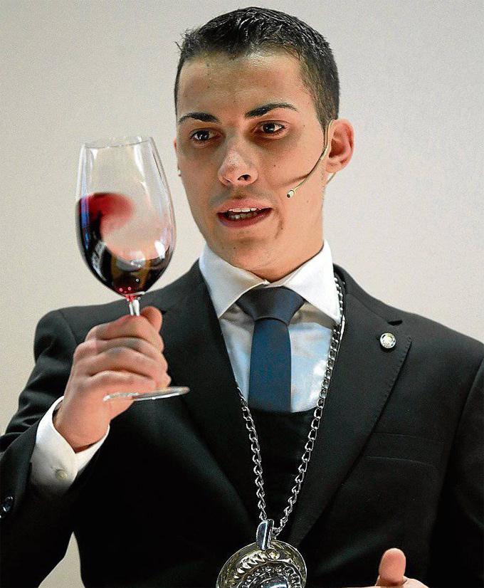 Guillermo Cruz, Mejor Sumiller de España