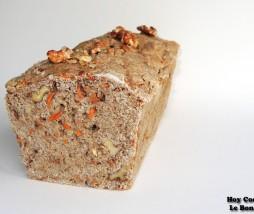 Pan integral de zanahoria