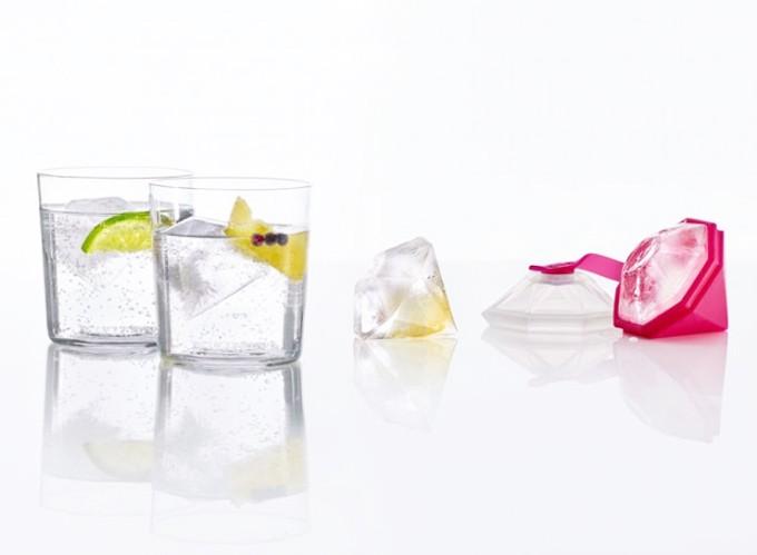 Molde Ice Block Diamante para hacer hielos