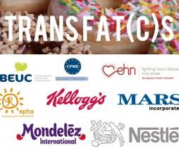 Eliminar las grasas trans en Europa