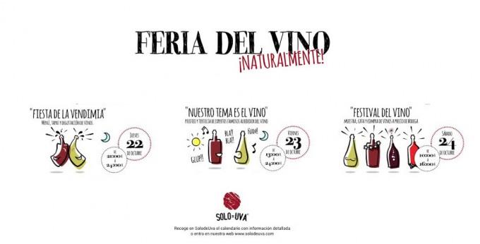 Feria de vinos naturales