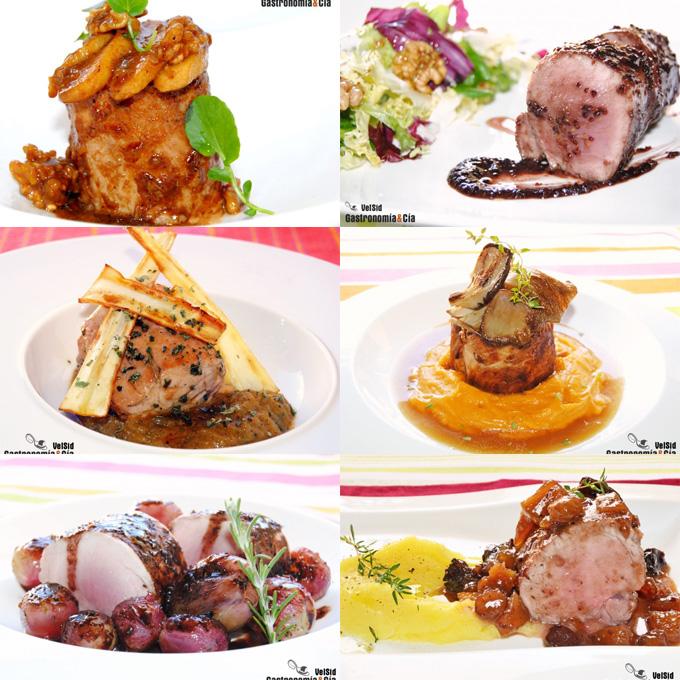 Doce nuevas recetas con solomillo de cerdo gastronom a c a - Solomillo de ternera al horno con mostaza ...