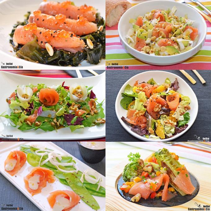 Recetas con salmón ahumado