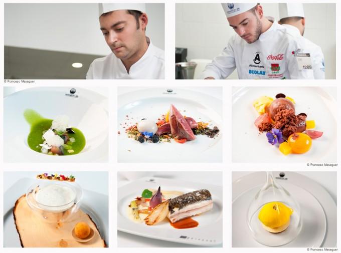 Cuartos finalistas del Concurso Cocinero del Año 2016