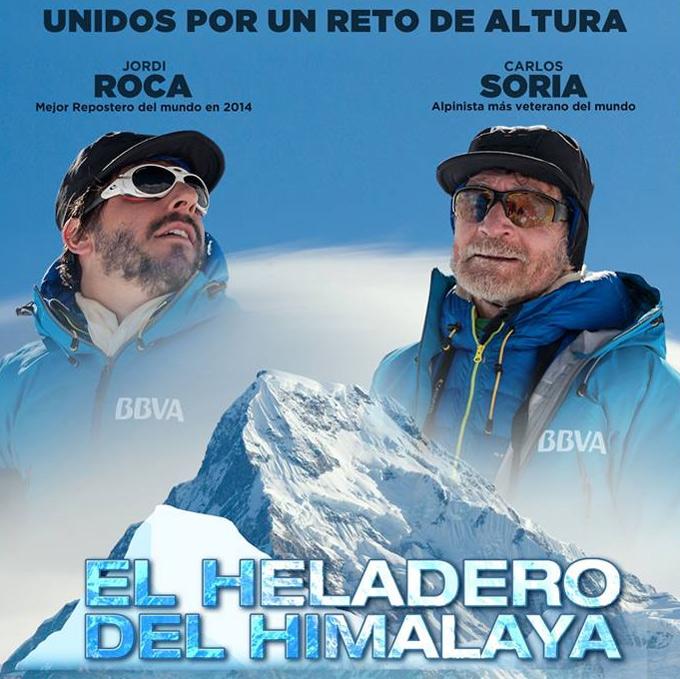 Jordi Roca en la expedición al Annapurna