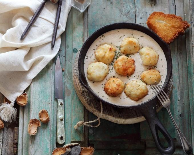Hoy Cocinas Tú: Albóndigas de merluza con salsa de almendras