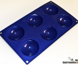 Molde semiesfera silicona