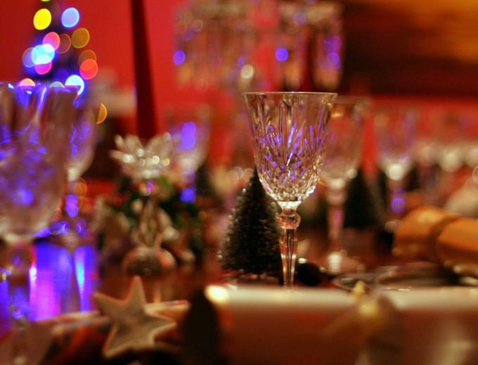 Consejos para poner la mesa en las fiestas navideñas