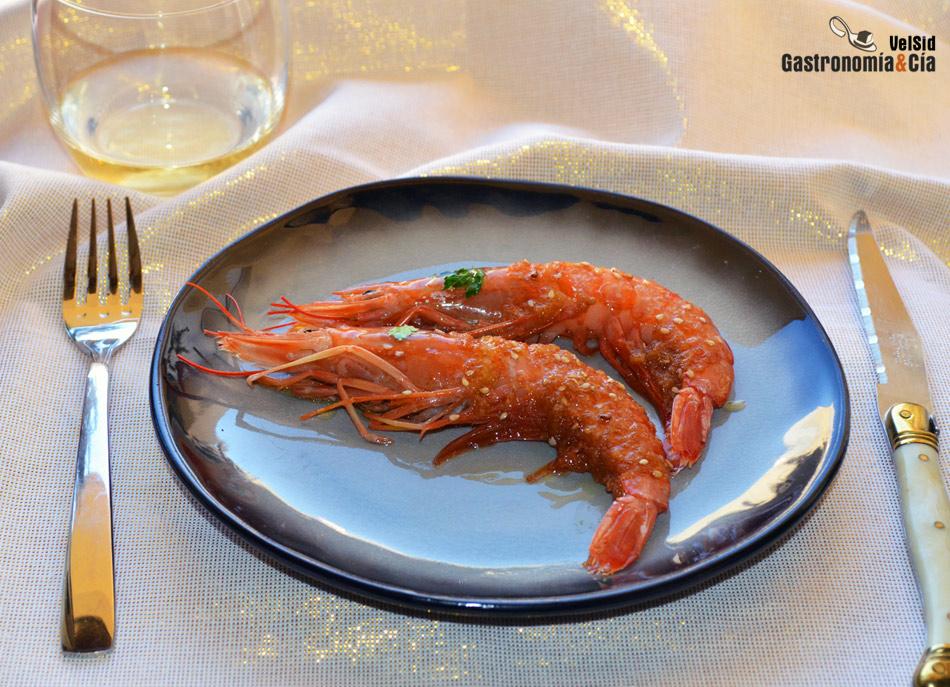Recetas de aperitivos con gambas y langostinos para - Como hacer aperitivos frios ...