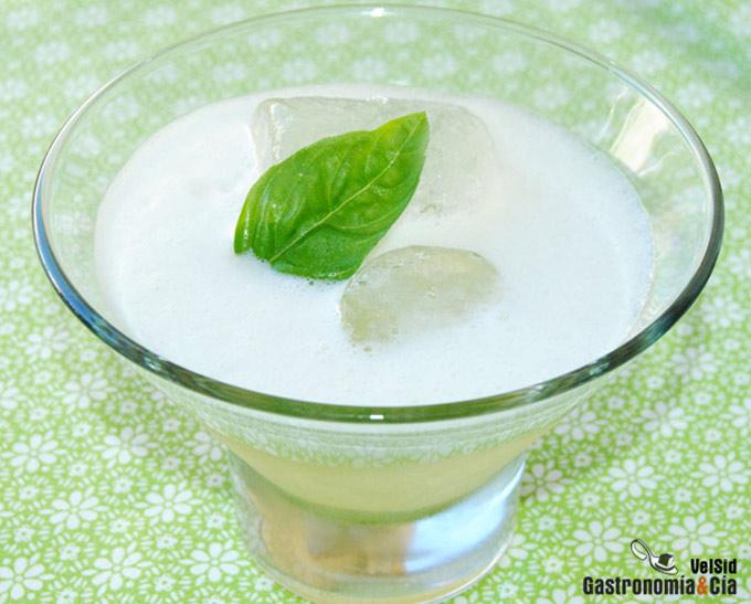 Gin Mare con melón y gengibre