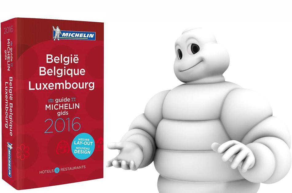 Guía Michelin de Bélgica y Luxemburgo 2016