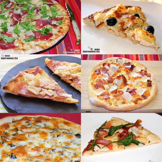 Doce recetas de pizza