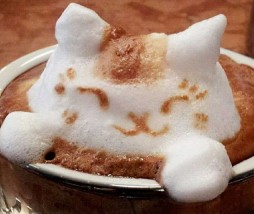 Arte del latte en 3D