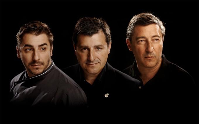 Jordi, Josep y Joan Roca