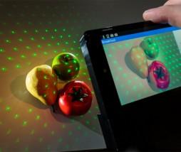conocer las calorías de la comida con la ayuda de la tecnología láser