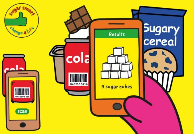 App Sugar Smart, para conocer el contenido de azúcar en