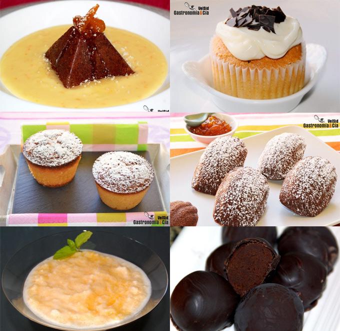 Recetas dulces con naranja