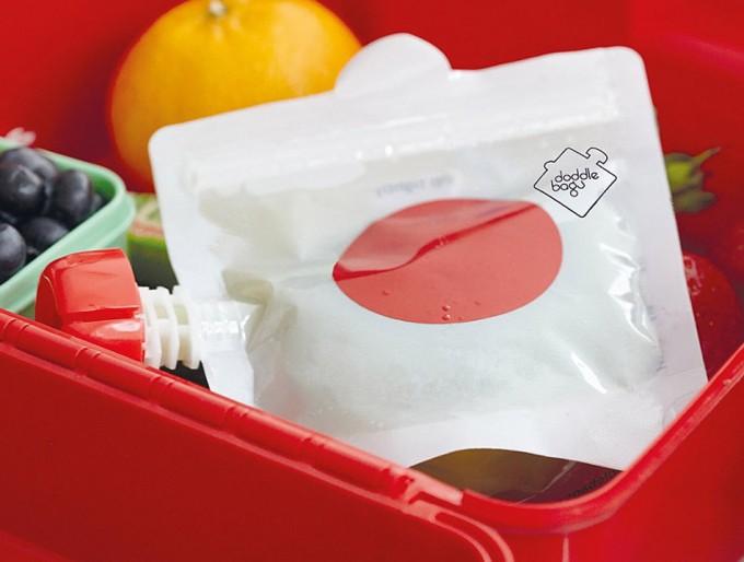 Bolsas reutilizables para purés, papillas, batidos, yogures...