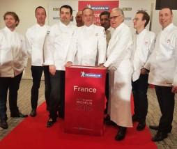 Nuevos estrellas Michelin en Francia