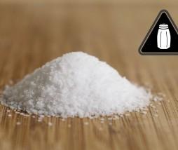 Abuso de sal en las comidas