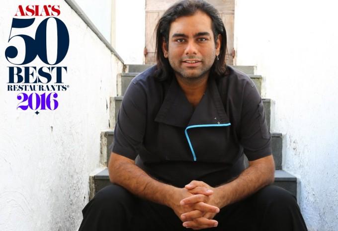 el Restaurante Gaggan de Gaggan Anand