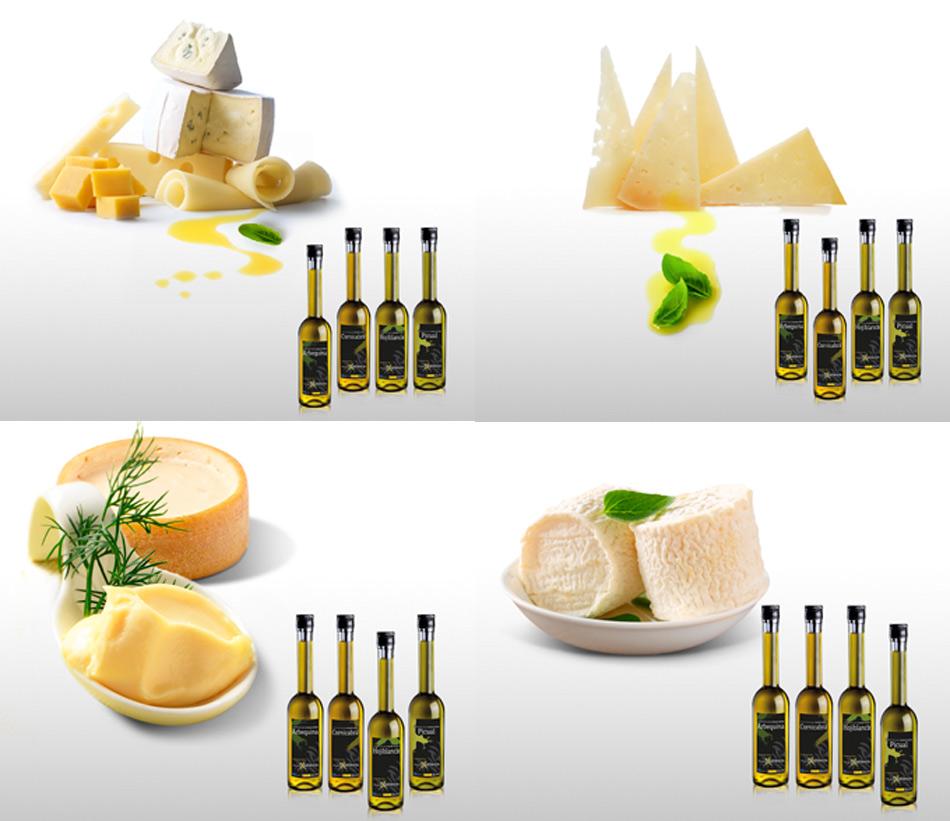 Guía del maridaje perfecto entre quesos y aceites de oliva virgen extra